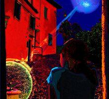 Night Window Legend by Yevgeni Kacnelson