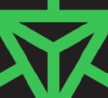 Ingress Enlightened Green Enlightenment Iluminados Sticker