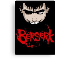 Berserk Gatsu t-shirt Canvas Print