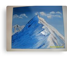 Zugspitze: Germany's Highest Mountain Peak Metal Print