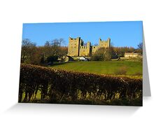 Castle Bolton Greeting Card