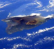 Island of Hawaii From the International Space Station by wrstscrnnm6