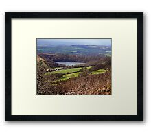 Lake Gormire  -  Yorkshire Moors N.P. Framed Print