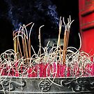 Burning Incense by AnnieD