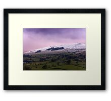 Wether Fell - Yorkshire Dales. Framed Print