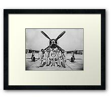 The NACA Spirit Captured, 1945 Framed Print