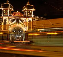 Ghost tram to Luna Park by Alf Caruana