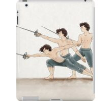 A Study In Fencing iPad Case/Skin