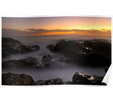 Sunrise at Mullway Poster