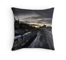 Kirrawee Track Works Throw Pillow