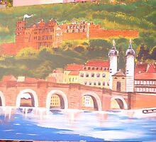 The Heidelberg Castle, Heidelberg, Germany by rei1