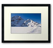 Winter Reservoir Framed Print