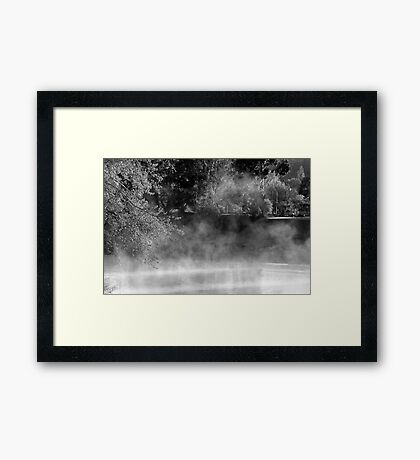 Past looking to the Future  Framed Print