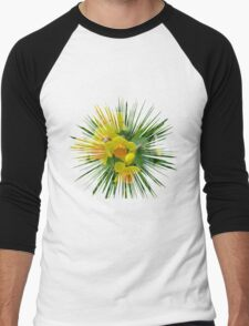 Daffodils.... Men's Baseball ¾ T-Shirt
