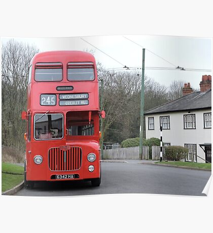 Birmingham Bus (From the Good Old Days) Poster