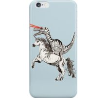 Raptor & Unicorn iPhone Case/Skin