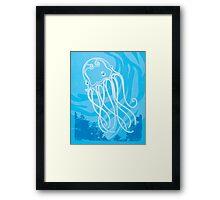 Box Jellyfish Framed Print