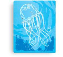 Box Jellyfish Canvas Print