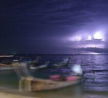 Distant Storm by Gavri