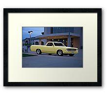 1965 Chevrolet Custom El Camino Framed Print