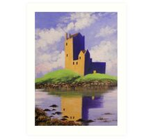 A CASTLE ON THE HILL Art Print