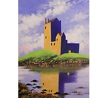 A CASTLE ON THE HILL Photographic Print