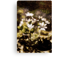 Endgraving Forest 16 Canvas Print