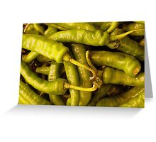 Chiles Greeting Card