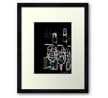 A Quiet Night In Framed Print