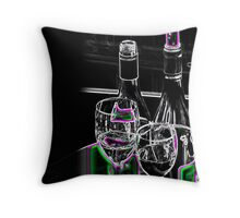 A Quiet Night In Throw Pillow
