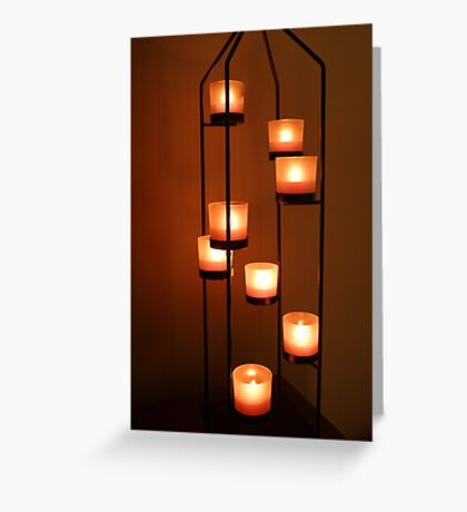 Votive Tower Greeting Card