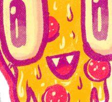 Pizza Face Buddy Sticker