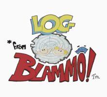 Log from Blammo Kids Tee
