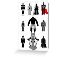 Revengers Assembled (Portrait) Greeting Card