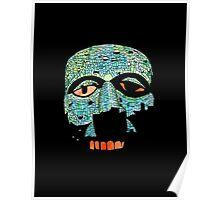 Aztec Mask Poster