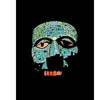Aztec Mask Photographic Print