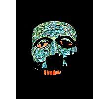 Aztec Mask Photographic Print