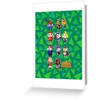 Animal Crossing Greeting Card