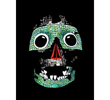 Aztec Mask 2 Photographic Print