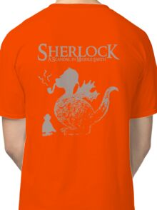 Sherlock: A Scandal in Middle-earth (Grey) Classic T-Shirt