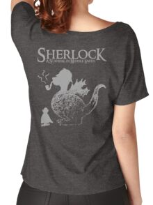 Sherlock: A Scandal in Middle-earth (Grey) Women's Relaxed Fit T-Shirt