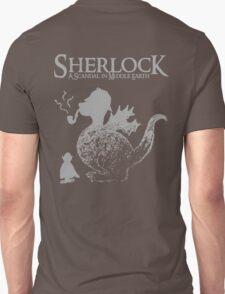 Sherlock: A Scandal in Middle-earth (Grey) Unisex T-Shirt