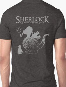 Sherlock: A Scandal in Middle-earth (Grey) Unisex T-Shirt