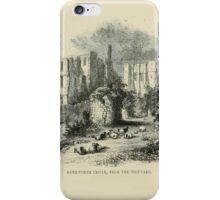 Vintage England Kenilworth Castle iPhone Case/Skin
