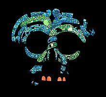 Aztec Mask 3 by lintho