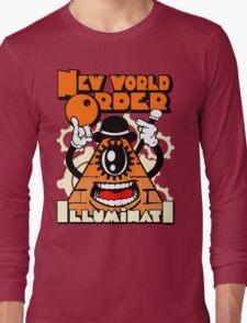 Anti New World Order - Clockwork Orange Mashup Long Sleeve T-Shirt