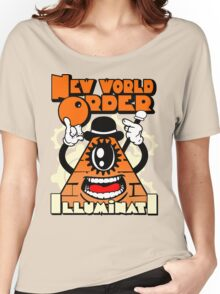 Anti New World Order - Clockwork Orange Mashup Women's Relaxed Fit T-Shirt
