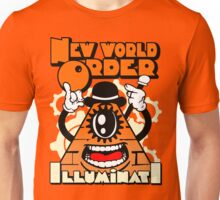 Anti New World Order - Clockwork Orange Mashup Unisex T-Shirt