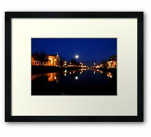 Cork By Night Framed Print