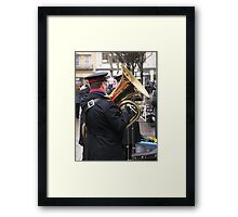 Salvation in the Tuba Framed Print